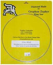 Gryphon Zephyr Fine Blade for Glass Ringsaw