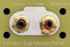 Abstandserweiterung Cinchbuchsen Studer Revox A740, A 740 RCA Replacement kit