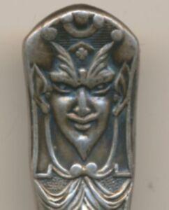 Devil Art Nouveau Johnson's Restaurant San Francisco Reed & Barton Silver Spoon