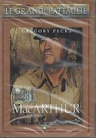 Dvd **MacARTHUR ♦ IL GENERALE RIBELLE** con Gregory Peck nuovo 1977