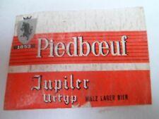 Etiquette allumette - BIERE - PIEDBOEUF - JUPILER - URTYP - Belgium - (88)
