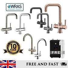 Instant Nearly Boiling Hot Water Kitchen Mixer Tap Copper Gunmetal Black Chrome