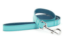 Ancol Indulgence Aqua Leather Dog Lead