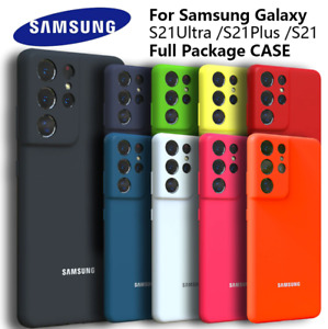 Candy Color Silky Silicone Case Cover For Samsung Galaxy S21 Ultra S21 Plus S20