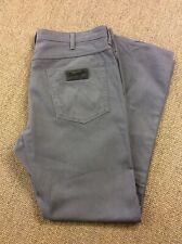 Mens WRANGLER W40 L34 Arizona Stretch Grey Canvas Jeans Superb