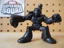 Marvel Super Hero Squad RARE TEST SHOT Black Blank WAR MACHINE Modern Armor Wars