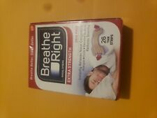 New Breathe Right Extra Strength 26 Tan Nasal Strips Large Free Shipping