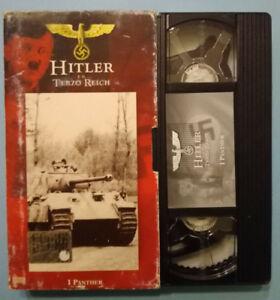 VHS Film Ita Documentario Hitler e il Terzo reich I PANTHER Panzer no dvd (V151)