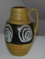 Scheurich 414-16 design Keramik 60s 70s WGP Vase Fatlava Vintage artpottery MCM