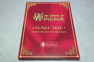 The House Of Windsor Family Tree Commemorative Coin Collection 1 Coin Included