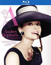 AUDREY HEPBURN COLLECTION BLU-RAY Sabrina Funny Face Breakfast at Tiffany's NEW!