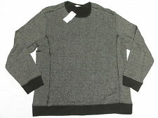 $89 NWT Mens Calvin Klein Marled Striped Crew Sweatshirt Sweater Sz XXL 2XL M704