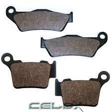 Front Rear Brake Pads For KTM XC-W300 2006 2007 2008 2009 2010 2011 2012-2016