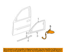 Cadillac GM OEM 03-05 DeVille Door Side Rear View-Mirror Assy Right 10381052