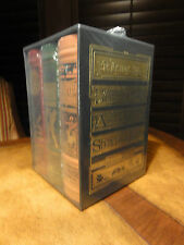 Easton Press VERNE: THE MYSTERIOUS ISLAND 3 vol Deluxe Limited Edition SEALED