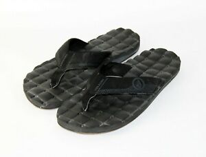 VOLCOM Cushioned Flip Flops, Men's Size 10, EUC!!