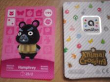 CARTE AMIIBO ANIMAL CROSSING 195 HAMPHREY CHARLES NEUF Envoi Rapide 3DS SERIE 2