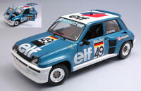 Model Car Scale 1:18 solido Renault 5 Turbo modellcar Rallye R5 Rally
