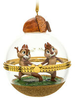 Disney Store Sketchbook Dynamic Duo Chip And Dale Xmas Tree Bauble Decoration