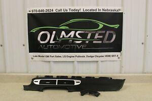 2010 2015 Chevrolet Camaro SS ZL1 Black Leather Dash Trim 2 Pieces GM Factory