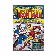 Iron Man Tales of Suspense Wood Wall Art 19 x 13-inches