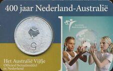 Niederlande 5 Euro 2006 Coincard Niederlande-Australien