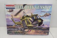 Monogram Bell Huey Gunship 1/24 Scale Model Kit Lot#AMO-0500