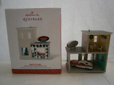 Hallmark 2014 Christmas Ornament Andy's Car Nostalgic Houses & Shops Garage