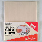 "Sew Easy Aida Cloth ~ 14 Count ~ 14"" x 17½"" ~ 100% Cotton"