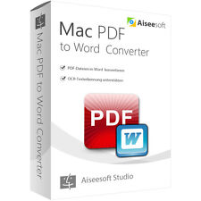 PDF to Word Converter MAC Aiseesoft dt.Vollversion 1 Jahr - Lizenz Download