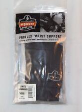 Ergodyne ProFlex Wrist Support 4000 Limits Downward Large Black Left NEW