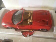ELITE HOTWHEELS BCJ89 FERRARI 458 SPIDER RED 1/18 BERLINETTA MODELCAR KEERBERGEN