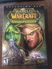 PC DVD-Rom World Of Warcraft The Burning Crusade