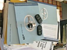 2004 Scion XB owners manuals, books, 2 OEM Key Fobs HYQ12BBX and Lighter