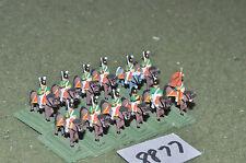 15mm NAPOLEONICO MINIFIGS Series 1 CAVALLERIA 12 cifre (8877) in metallo verniciato