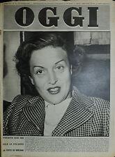 OGGI N°34/ 23/AGO/1951* PISCIOTTA DICE CHE SOLO LA CYLIAKUS SA TUTTO SU GIULIANO