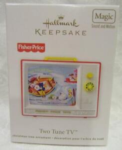 Hallmark Fisher Price Two Tune TV Ornament 2012
