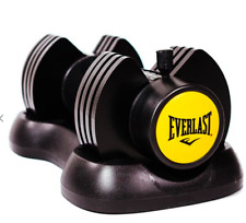 Two Everlast 12.5 Adjustable Dumbells - BRAND NEW IN BOX