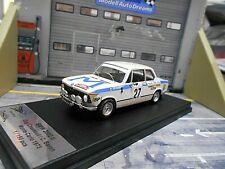BMW 2002 i Rallye Monte Carlo 1973 #27 Chasseuil M 1/150 Scala Trofeu 1:43