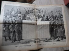 Genre L'ILLUSTRATION : LE JOURNAL ILLUSTRE ANNEE 1891 Calendrier Russe + Tsar