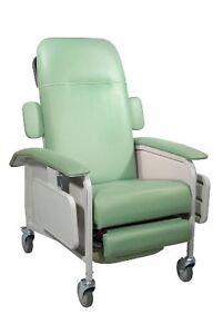 NEW Clinical Care Geri Chair Recliner, 3 POSITION , Jade MODEL D577-J