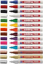 edding 750 Lackmarker Silber 2-4mm Rundspitze 04750054