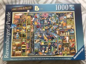 Ravensburger Awesome Alphabet 'B' 1000 piece jigsaw