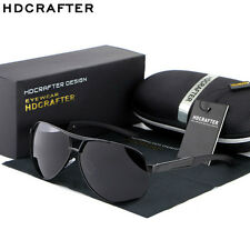 HD Mens Polarized Sunglasses Outdoor Driving Eyewear Aviator Sports Sun Glasses