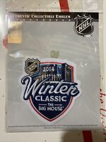 Official NHL 2014 Winter Classic Patch Detroit Red Wings vs Toronto Maple Leafs