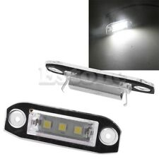 1 paires LED Number plaque d'immatriculation lampe Pour Volvo S80 C70 V70 XC90