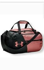 Under Armour UA Undeniable 4.0 Small Holdall Pink Coral Gym Duffle Bag NWT