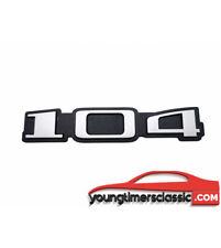 Monogramme Peugeot 104 logo
