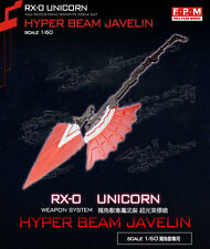 F.P.M Hyper Beam Javelin Weapon System for Bandai 1/60 PG RX-0 Unicorn Gundam