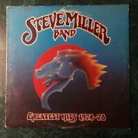 THE STEVE MILLER BAND Greatest Hits 1974-78 LP